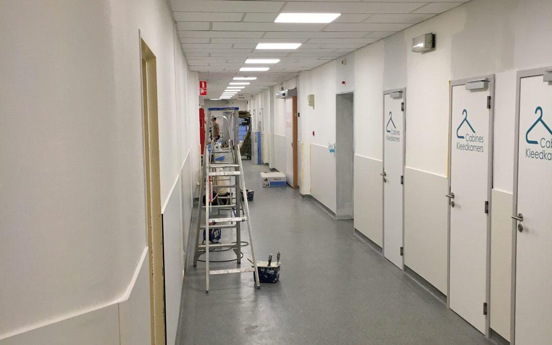 BRUXELLES Brugmann | couloir salle d'opération