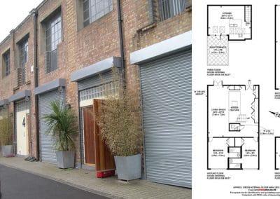 Usine et conception des plans Loft