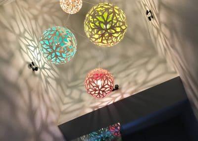 Transformation - Détail luminaire