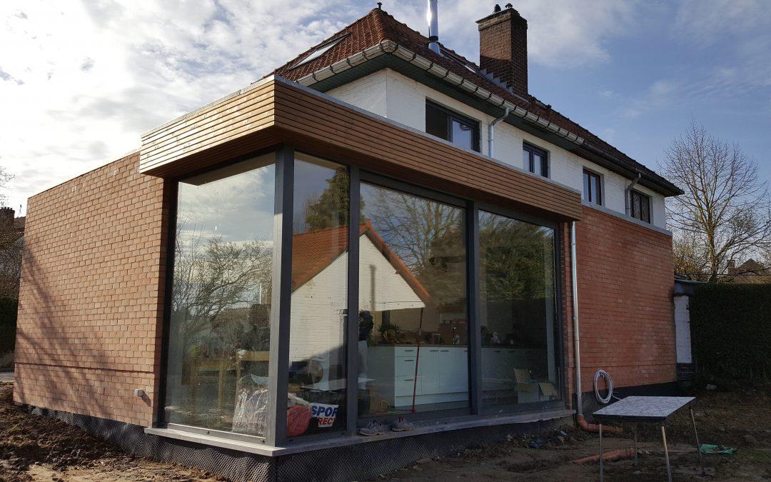 BUIZINGEN | construction d'une extension