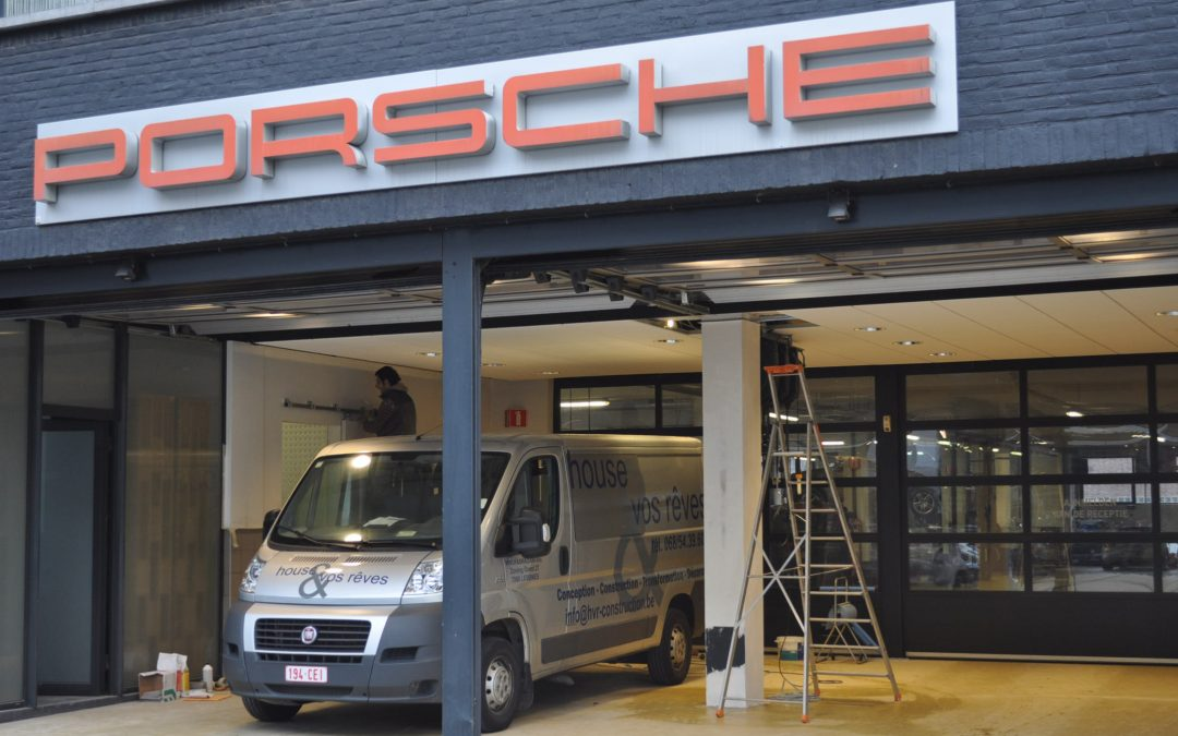 ANVERS | garage Porsche