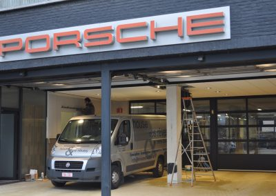 ANVERS   garage Porsche