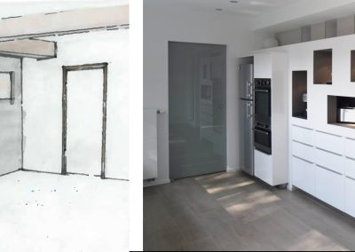 Habitation - Cuisine - conception AV/AP