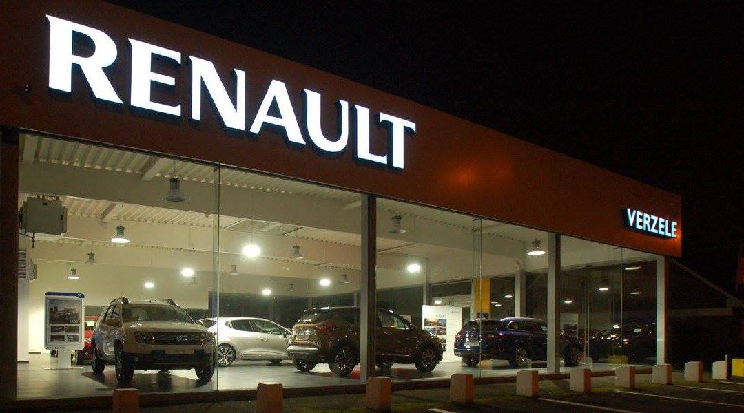 QUIEVRAIN | showroom Renault