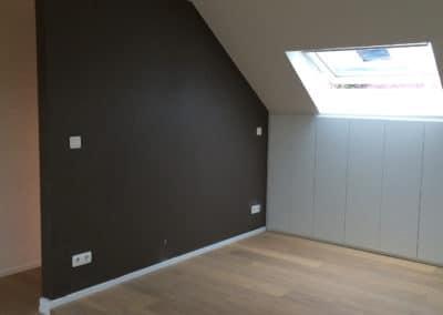 Mise en peinture - Nouveau plancher - Mobilier sous toiture